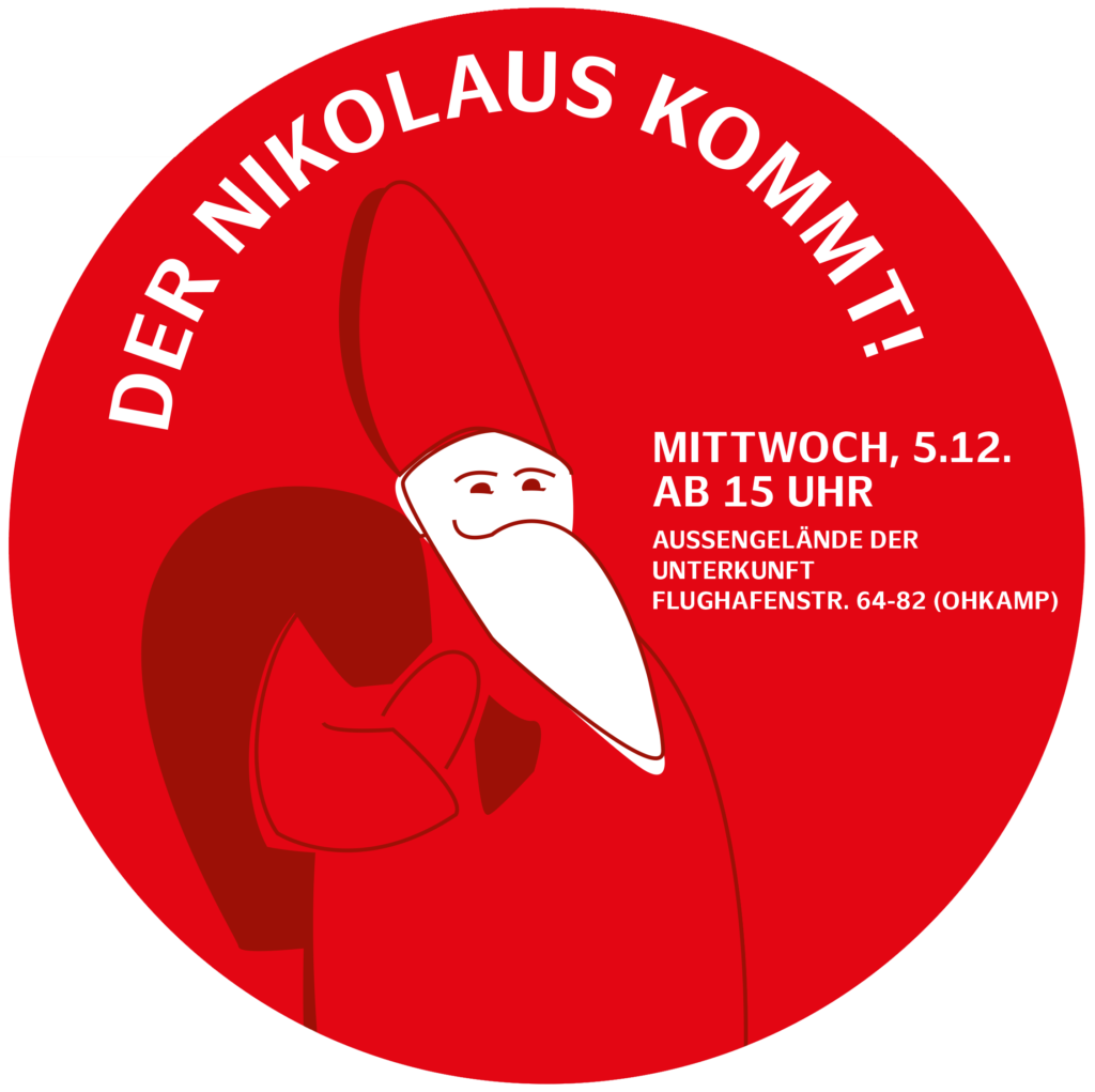 Nikolausfest am 5.12. ab 15 Uhr