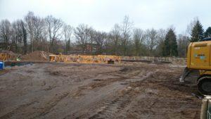 Start der Bauarbeiten