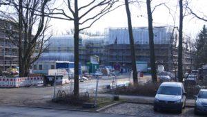Baufortschritt Februar 2018 (TOLLERORT entwickeln & beteiligen)