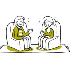 Beratung für ältere Menschen und pflegende Angehörige